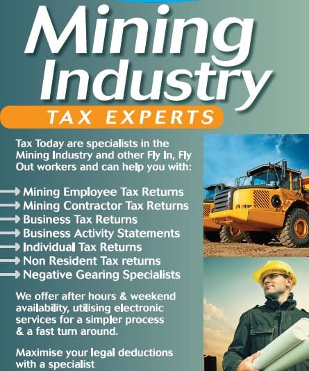 Mining Industry Tax specialist